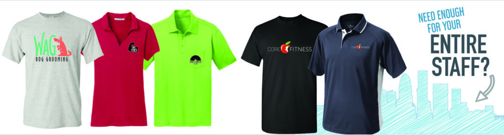 custom apparel helps businesses when it comes to promotional marketing campaigns