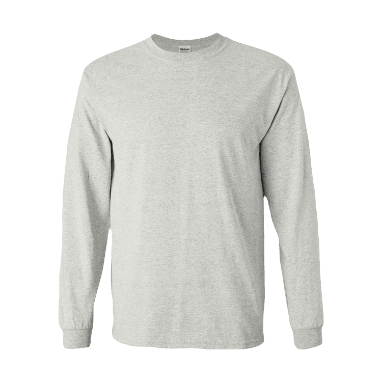 Basic Heavyweight Long Sleeve Tee-1