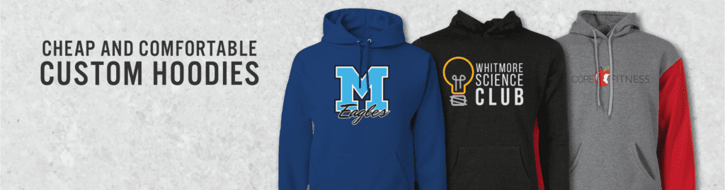 screenprinted custom hoodies are wildly popular amongst ARES Sportswear's custom apparel campaigns