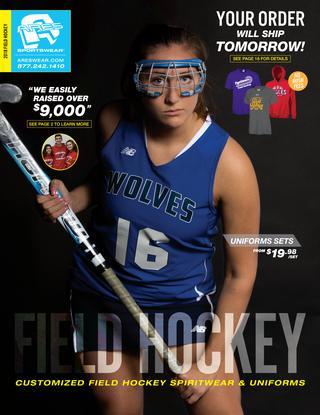 field hockey custom apparel and spirit wear is popular amongst the ARES Sportswear client base