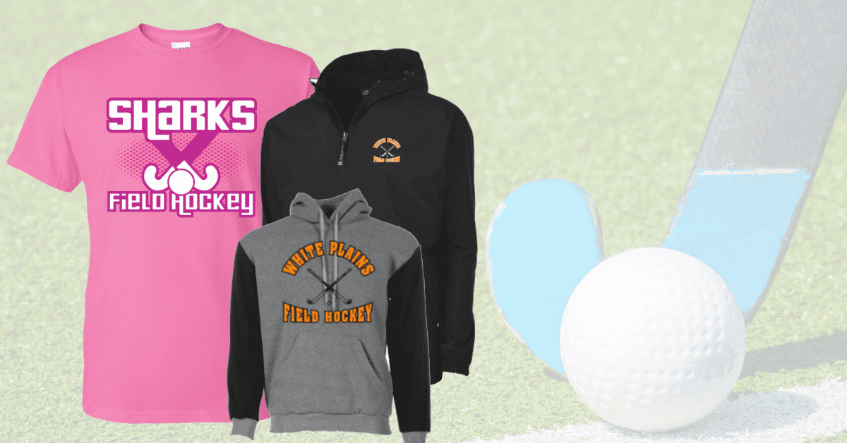 Custom apparel and spirit wear for field hockey is growing in popularity for ARES Sportswear
