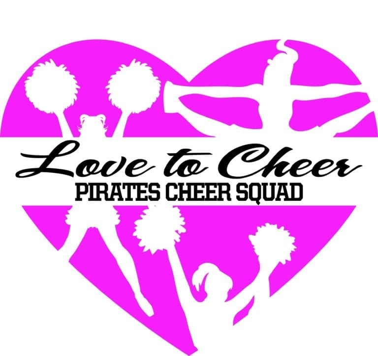 Love to Cheer Pirates Cheer Squad