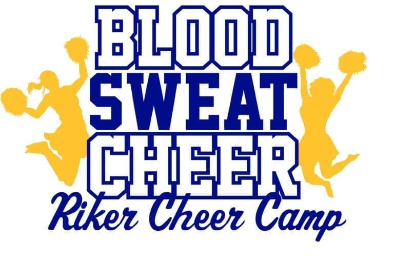 Blood Sweat Cheer Riker Cheer Camp