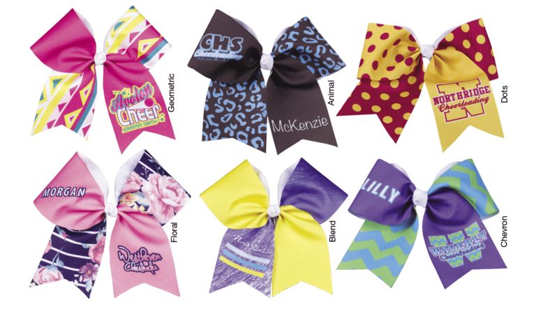 Cheer Custom Bows