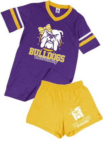 Sleeve Stripe Jersey and Cheer Short
