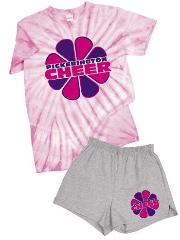 Cyclone Pinwheel Tee & Cheer Shorts