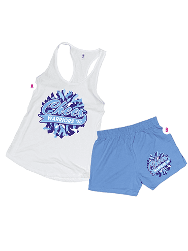 Ideal Racerback Tank & Cheer Shorts