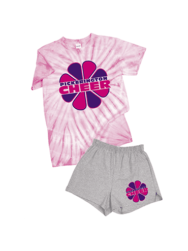 Cyclone Pinwheel Tee & Cheer Shorts