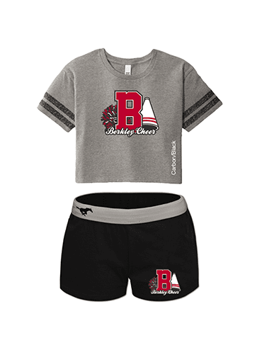 Scorecard Crop Tee & Cheer Shorts