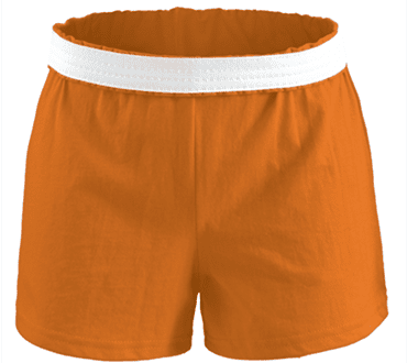 Orange Soffe Short
