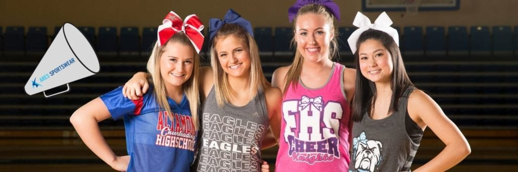 cheerleading custom apparel for cheer camp